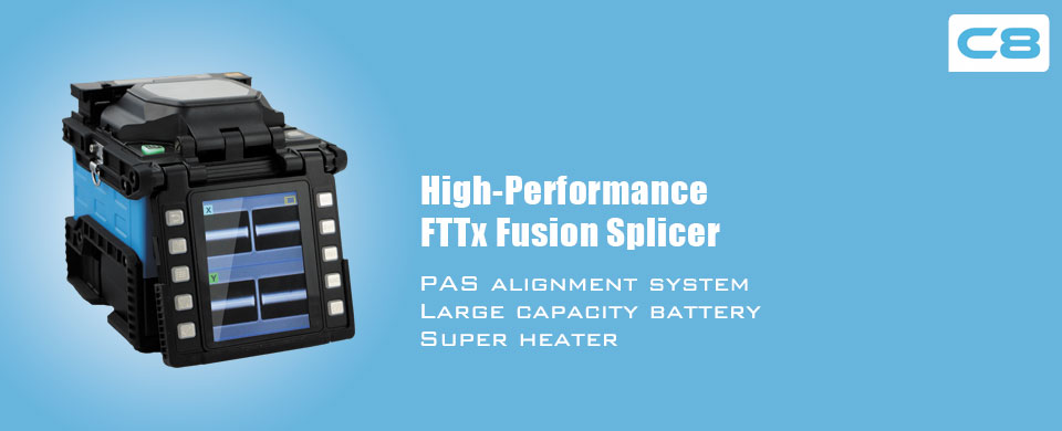 COMWAY C8 Hign-Performance FTTx Fusion Splicer