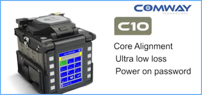 COMWAY C10 fusion splicer